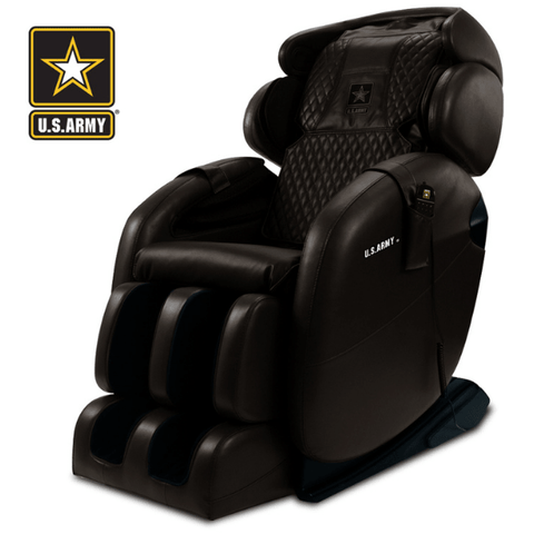 Kahuna Massage Chair Chocolate Brown / FREE Curbside Delivery + $0 / FREE 3 Year Limited Parts/Labor Warranty Kahuna LM-6800S U.S Army Edition Massage Chair