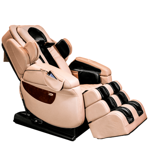 Luraco Massage Chair Cream / Manufacturer's Warranty / Free Curbside Delivery + $0 Luraco iRobotics 7 Plus Massage Chair