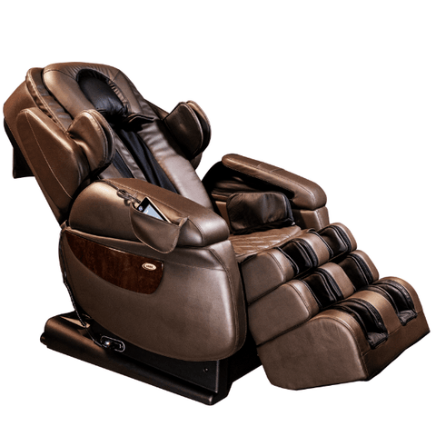 Luraco Massage Chair Chocolate / Manufacturer's Warranty / Free Curbside Delivery + $0 Luraco iRobotics 7 Plus Massage Chair