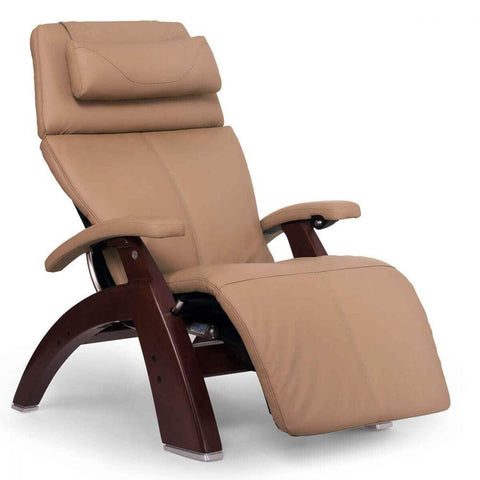 Human Touch Recliner Chestnut Wood / Sand Top Grain Leather + $200.00 / Free Curbside Delivery + $0.00 Human Touch Perfect Chair PC-610 Omni-Motion Classic Recliner