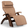 Image of Human Touch Recliner Walnut Wood / Sand Top Grain Leather + $200.00 / Free Curbside Delivery + $0.00 Human Touch Perfect Chair PC-420 Classic Plus Recliner