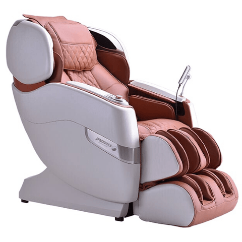 JPMedics Massage Chair Stone White & Copper / FREE 3 Year Limited Warranty / Free Curbside Delivery + $0 JPMedics Kumo Massage Chair
