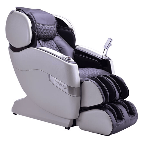 JPMedics Massage Chair Stone White & Edo Brown / FREE 3 Year Limited Warranty / Free Curbside Delivery + $0 JPMedics Kumo Massage Chair