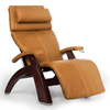 Image of Human Touch Recliner Black Wood / Sycamore Premium Leather + $500.00 / Free Curbside Delivery + $0.00 Human Touch Perfect Chair PC-420 Classic Plus Recliner