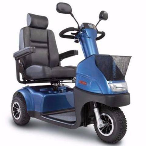 Afiscooter C3 Transport Scooter Blue