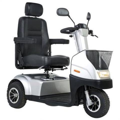 Afiscooter C3 Transport Scooter Silver
