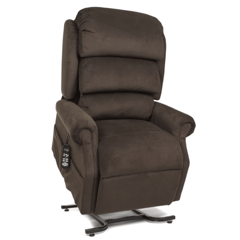UltraComfort Lift Chair CoffeeHouse / Free Curbside Delivery + $0 / No Vibration/Heat + $0 UltraComfort UC550-M Medium Zero Gravity Lift Chair