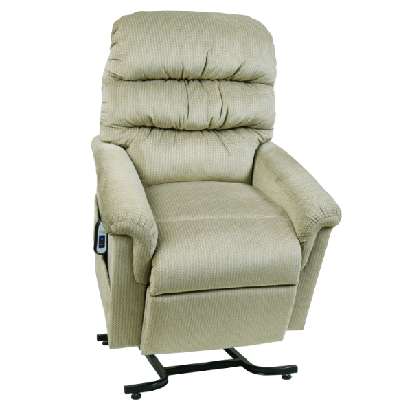 UltraComfort Lift Chair Corn Stalk / Free Curbside Delivery + $0 / No Vibration/Heat + $0 UltraComfort UC542-M Medium Lift Chair