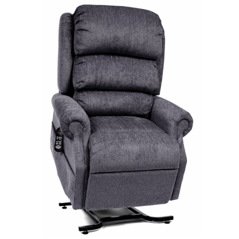 UltraComfort Lift Chair Granite / Free Curbside Delivery + $0 / No Vibration/Heat + $0 UltraComfort UC550-M Medium Zero Gravity Lift Chair