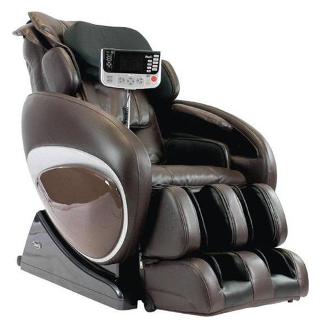 Osaki Massage Chair Brown / FREE 3 Year Limited Warranty / FREE Curbside Delivery + $0 Osaki OS-4000T Massage Chair