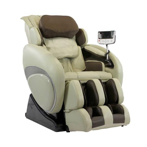 Osaki Massage Chair Taupe / FREE 3 Year Limited Warranty / FREE Curbside Delivery + $0 Osaki OS-4000T Massage Chair