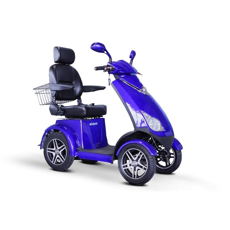 EWheels EW-72 Four Wheel Electric Mobility Scooter