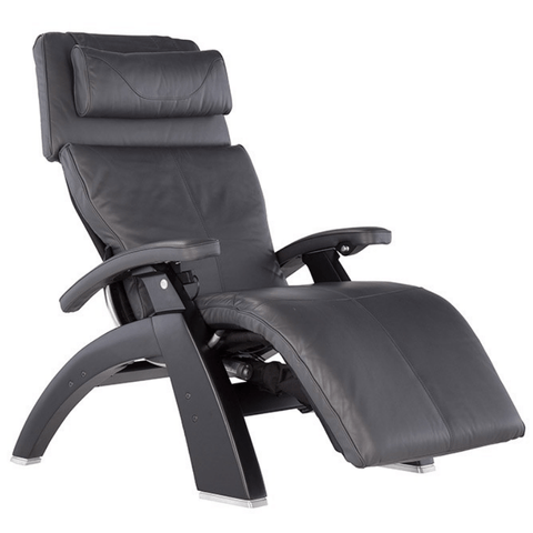 Human Touch Recliner Matte Black / Gray Premium Leather / Free Curbside Delivery + $0.00 Human Touch Perfect Chair PC-LiVE PC-600 Zero Gravity Recliner