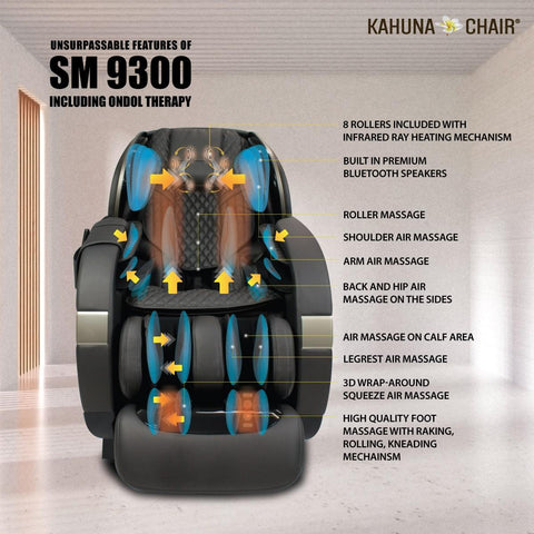 new arrival kahuna massage chairs