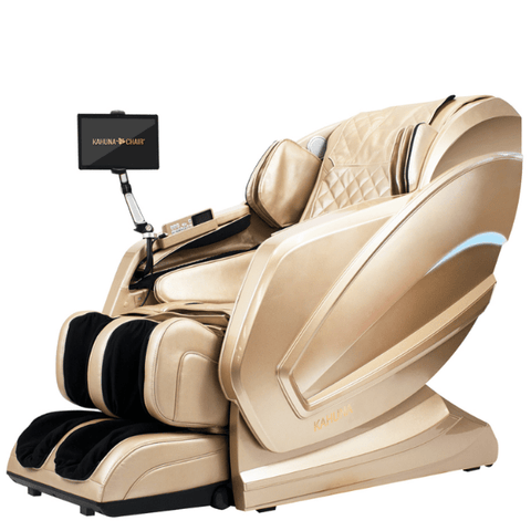 Kahuna Massage Chair Gold / FREE Curbside Delivery + $0 / FREE 5 Year Parts/Labor Warranty Kahuna Kappa Massage Chair