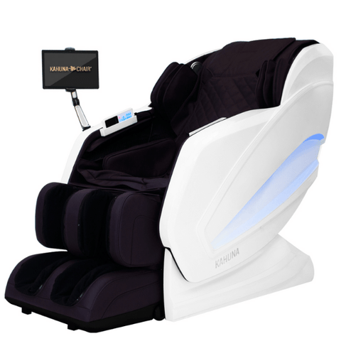 Kahuna Massage Chair Purple/White / FREE Curbside Delivery + $0 / FREE 5 Year Parts/Labor Warranty Kahuna Kappa Massage Chair