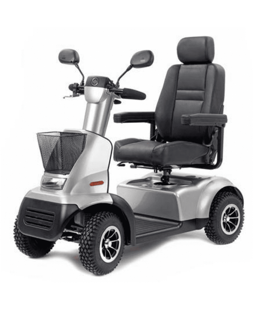 Afiscooter C4 Transport Scooter Silver