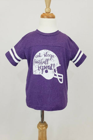 Purple Football Helmet Jersey