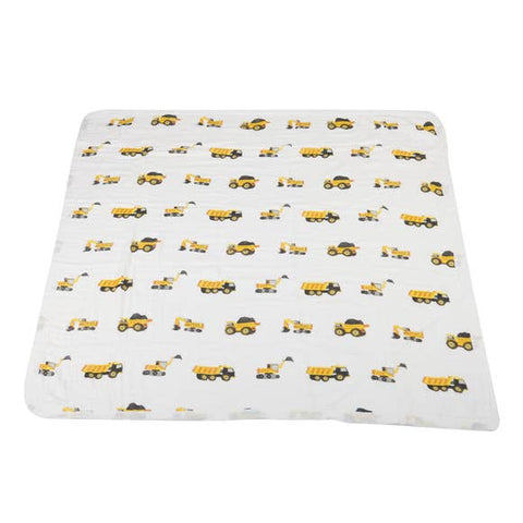 Yellow Digger & White Newcastle Blanket