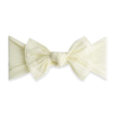 Knot bow-Ivory