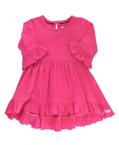 Candy High Low Ruffle Tunic