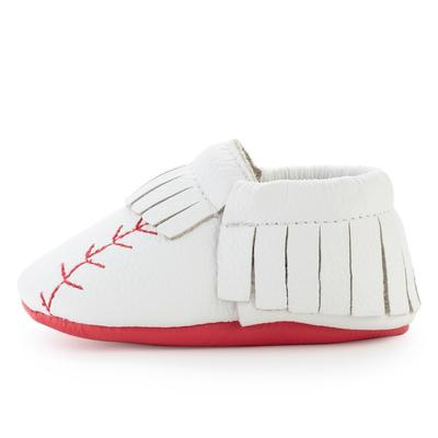 BirdRock Baby - Home Run Genuine Leather Baby Moccasins