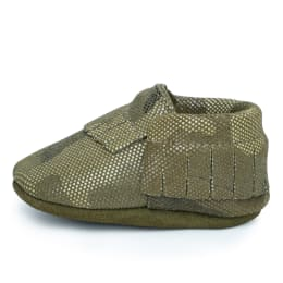 Camo Baby Moccasins