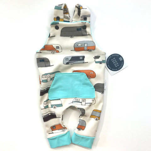 Picket Fence Creations - Camper with Aqua Cuff - Prints