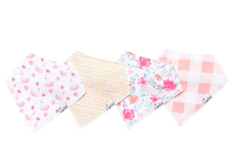 June Baby Bandana Bib Set (4-pack)