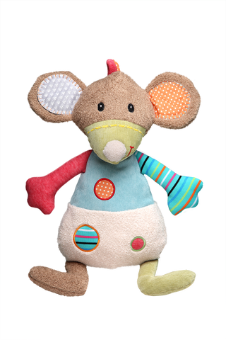 STORKI - STORKI Mouse Stuffed Teddy Rattle