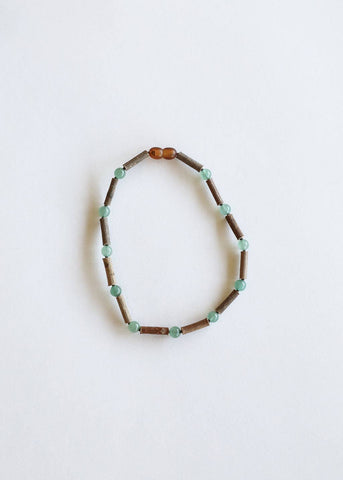 CanyonLeaf - Kids: Hazelwood + Adventurine Necklace