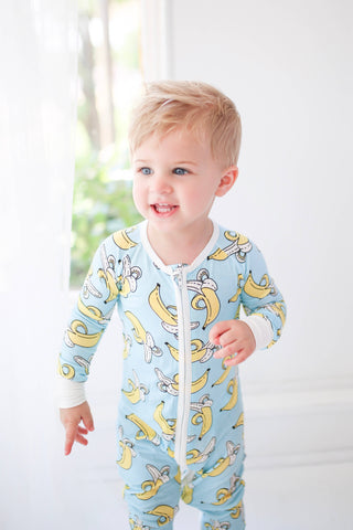 Little Sleepies - Banana convertible romper/sleeper
