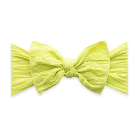 Knot bow-Citron