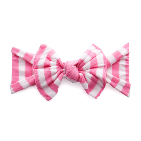 Patterned Knot: Pink stripe