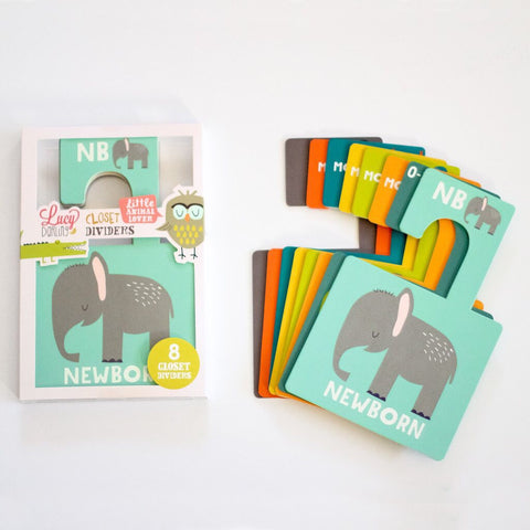 Little Animal Closet Dividers