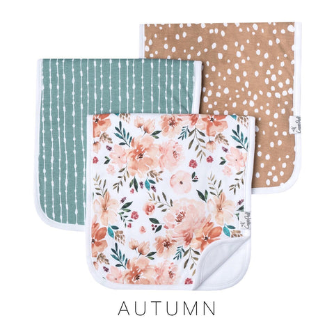Autumn Burp Cloth Set (3-pack)