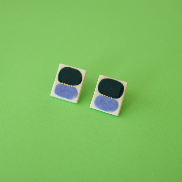 Color Field Earrings / 16KGP