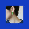 M.N Bean3 / Earrings / yellow green