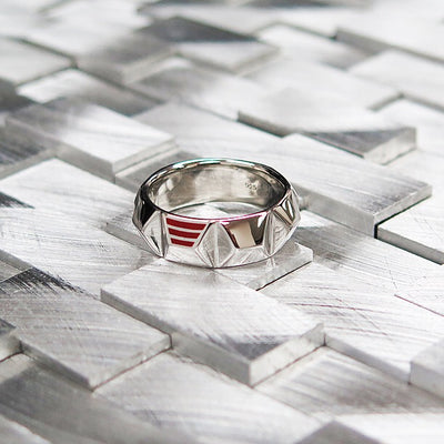 R7 – Men's Contemporary Sterling Silver Band
