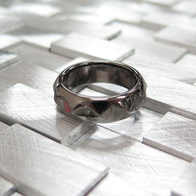 R8 – Men's Contemporary Sterling Silver Band