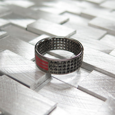 R2 – Men's Contemporary Sterling Silver Band