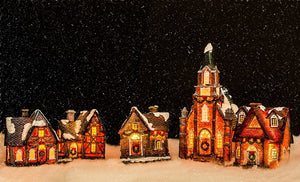 Start a New Tradition this Year and Add a Christmas Village to Your Holiday Decorations | All For Xmas