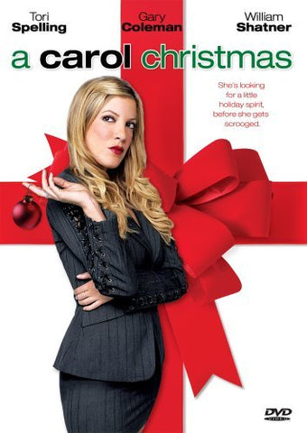 a carol christmas movie poster
