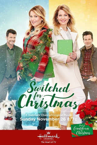 switched for christmas movie