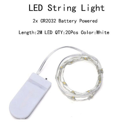 10Pcs LED String Lights Battery Operated | Christmas Lighting | All For Xmas