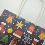 10pcs Christmas Small Paper Mixed Design Gift Bags | Gift Decor | All For Xmas - All For Xmas