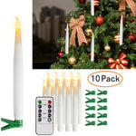 Christmas Tree Flameless Candles LED Light 10 PCS | Tree Decor | All For Xmas