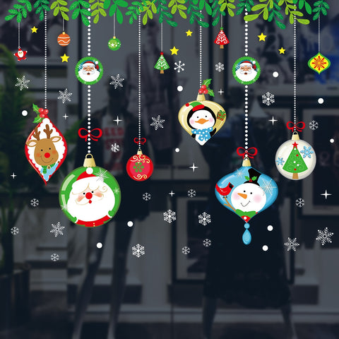 Christmas Window Wall Stickers