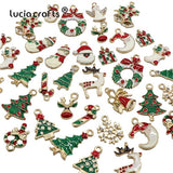 Metal Alloy Christmas Tree Decoration Set | Tree Ornaments | All For Xmas