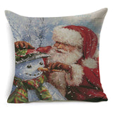 17 Inch Christmas Microfiber Pillow Case Cushion Cover | Home Decor | All For Xmas